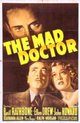 The Mad Doctor 1941 DVD - Basil Rathbone / Ellen Drew